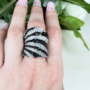 .925 sterling silver statement ring